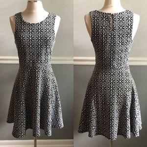 Stitch Fix 41Hawthorn B&W Fit and Flare Dress